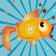 Dessin poisson rouge intelligent