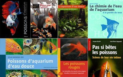 Livres sur l'aquariophilie